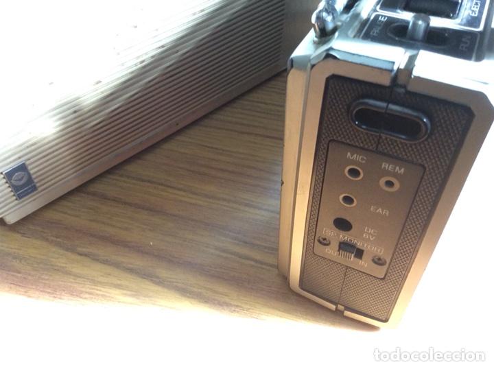 Radios antiguas: TRES RADIOS-DOS CON CASSETTE GRABADOR-ANTIGUAS. - Foto 13 - 112323738