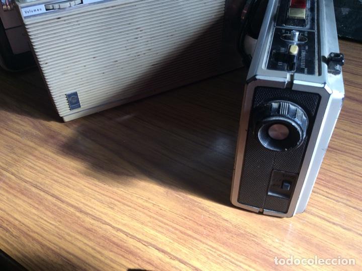 Radios antiguas: TRES RADIOS-DOS CON CASSETTE GRABADOR-ANTIGUAS. - Foto 15 - 112323738