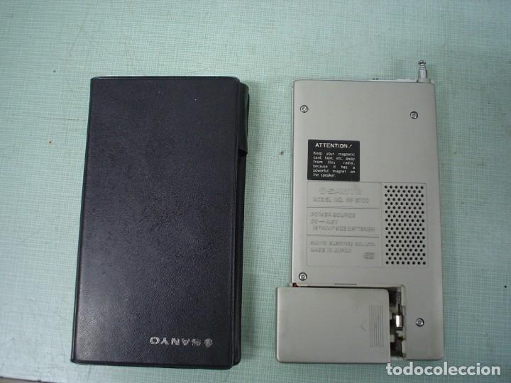 Radios antiguas: RADIO TRANSISTOR SANYO RP-6700 - Foto 6 - 112370811