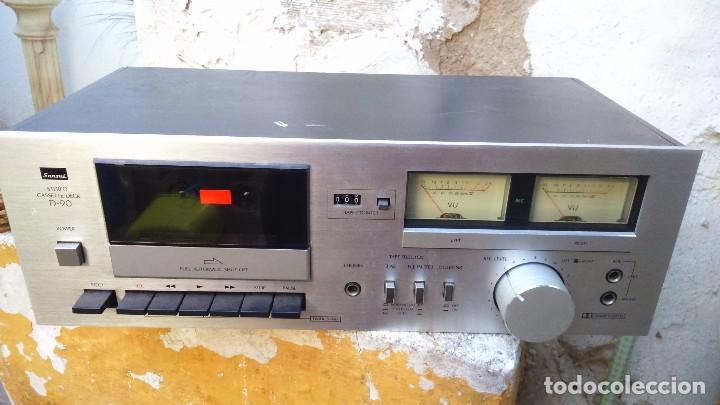 ANTIGUA RADIO SANSUI. STEREO CASSETTE DECK. INGLESA (Radios, Gramófonos, Grabadoras y Otros - Transistores, Pick-ups y Otros)