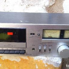 Radios antiguas: ANTIGUA RADIO SANSUI. STEREO CASSETTE DECK. INGLESA. Lote 112405771