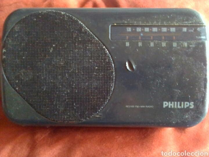 RADIO PHILIPS AE 2100 (Radios, Gramófonos, Grabadoras y Otros - Transistores, Pick-ups y Otros)