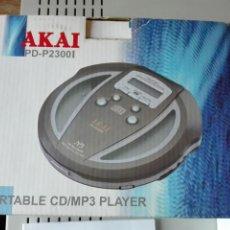 Radios antiguas: REPRODUCTOR CD/MP3 AKAI. Lote 103847748