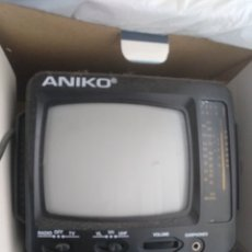Radios antiguas: MINI TV RADIO AM/FM ANIKO TV328. NUEVA EN CAJA. Lote 112762738