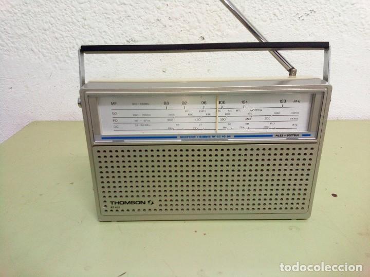 Radios antiguas: RADIO TRANSISTOR THOMSON RT- 431 - Foto 3 - 112813099