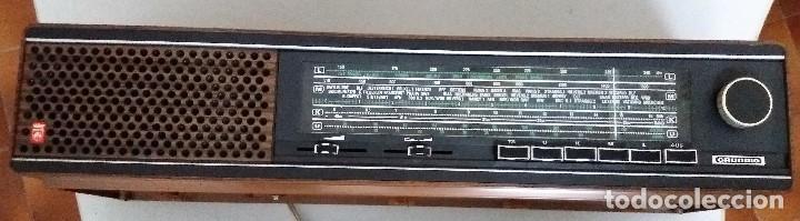 RADIO MARCA GRUNDID MODELO RF-511 EN PERFECTO ESTADO (Radios, Gramófonos, Grabadoras y Otros - Transistores, Pick-ups y Otros)