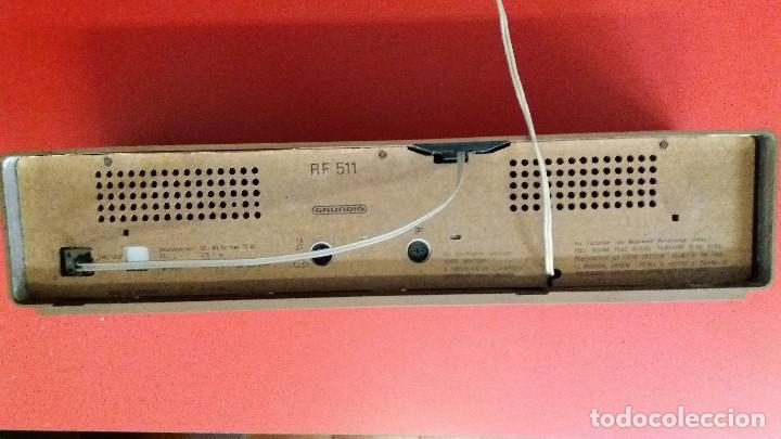 Radios antiguas: RADIO MARCA GRUNDID MODELO RF-511 EN PERFECTO ESTADO - Foto 7 - 113067567