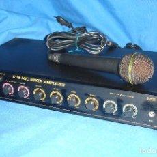 Radios antiguas: AMPLIFICADOR SPACETECH K-18 MULTI AUDIO - FUNCIONA. Lote 118621946