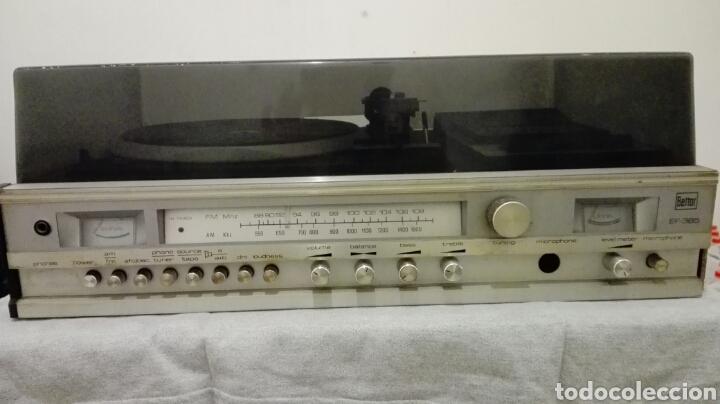 TOCADISCOS BETTOR MODELO EF-385 (Radios, Gramófonos, Grabadoras y Otros - Transistores, Pick-ups y Otros)