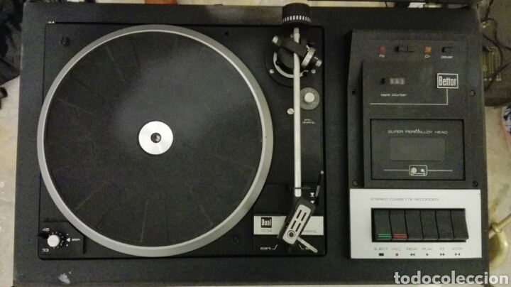 Radios antiguas: TOCADISCOS BETTOR MODELO EF-385 - Foto 2 - 113318696