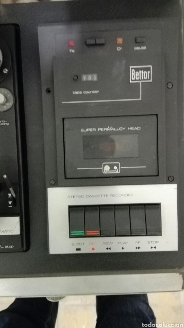 Radios antiguas: TOCADISCOS BETTOR MODELO EF-385 - Foto 3 - 113318696