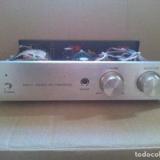 Radios antiguas: DECODIFICADOR DE AUDIO DIGITAL A ANALOGICO DE VALVULA. DAC-01 XIANGSHENG. Lote 113320775