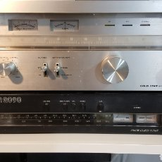 Radios antiguas: SINTONIZADOR DE RADIO GOLDSTAR GST-1010. Lote 113329878