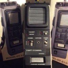 Radios antiguas: PAREJA DE WALKIE TALKIE GREAT - VINTAGE - ¡¡NUEVOS!! (VER FOTOS). Lote 113520403