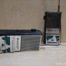 Radios antiguas: ANTIGUO WALKIE TALKIE - MASCOT 5 TRANSISTOR. Lote 113588147