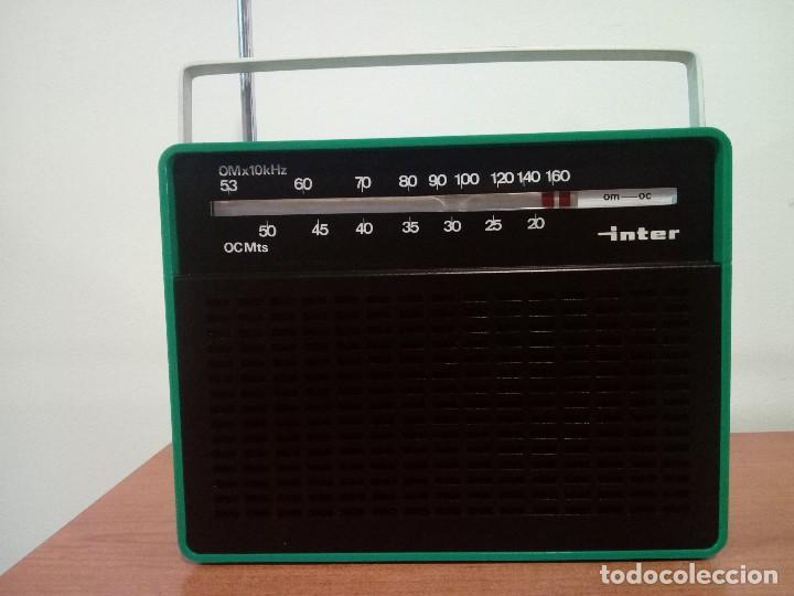 343-RADIO TRANSISTOR INTER (Radios, Gramófonos, Grabadoras y Otros - Transistores, Pick-ups y Otros)