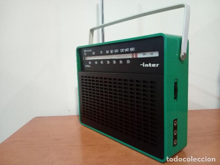 Radios antiguas: 343-Radio transistor Inter - Foto 2 - 113891355