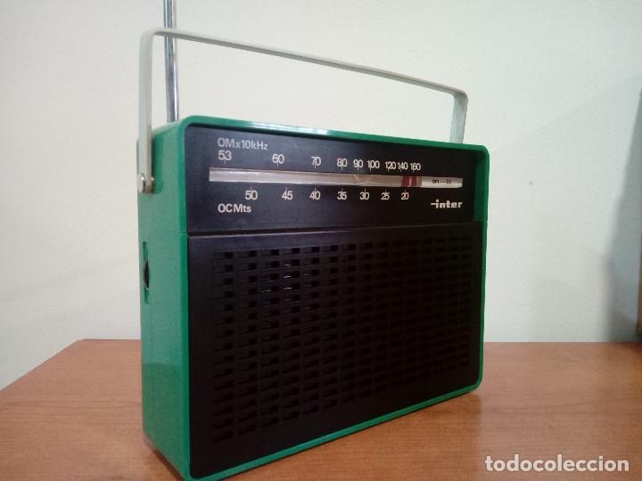 Radios antiguas: 343-Radio transistor Inter - Foto 4 - 113891355