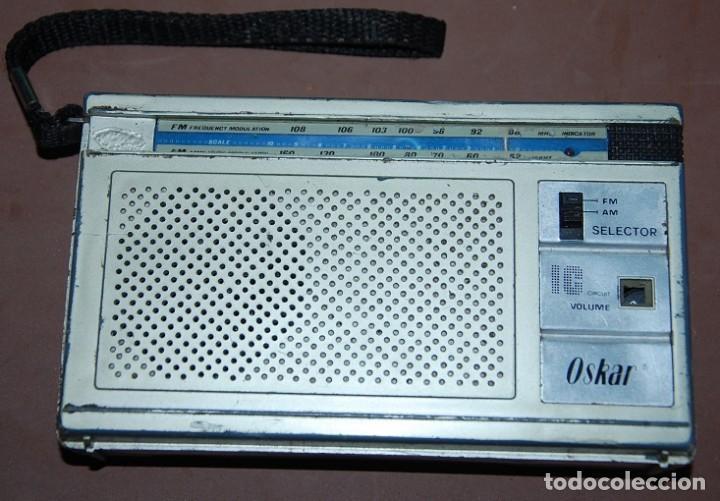 RADIO TRANSISTOR IC OSKAR (Radios, Gramófonos, Grabadoras y Otros - Transistores, Pick-ups y Otros)