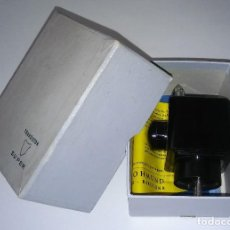 Radios antiguas - Único antiguo transistor super cargador audífono (baquelita), caja original instrucciones, 1950-1960 - 114444519