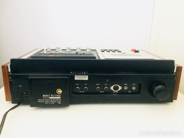 Radios antiguas: Technics Direct Drive Cassette RS-276U - Foto 9 - 114503352