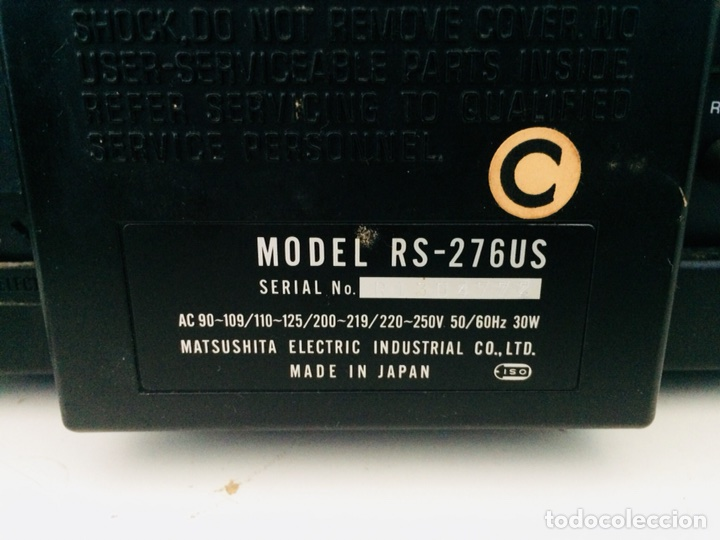 Radios antiguas: Technics Direct Drive Cassette RS-276U - Foto 10 - 114503352