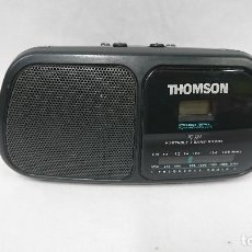 Radios antiguas - RADIO TRANSISTOR CON RELOJ THOMSON - 114525223