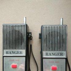 Radios antiguas: ANTIGUOS WALKIE-TALKIE. TRANSISTOR. WALKIE TALKIE AÑOS 80. Lote 114964243