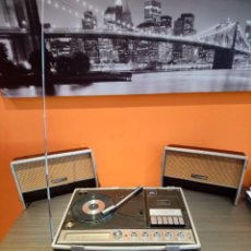 Radios antiguas: RADIO CASSETTE PHONO 3IN1 NATIONAL PANASONIC. Lote 120092226