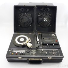 Radios antiguas: RADIO CASSETTE TOCADISCOS FARO 711 WEEK END. Lote 115248851
