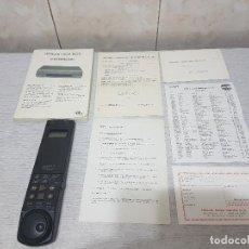 Radios antiguas: MANDO HITACHI MODELO VT-RM183E + INSTRUCCIONES - ORIGINAL. Lote 115295307