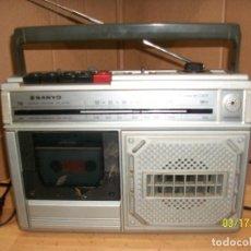 Radios antiguas: RADIO CASSETTE SANYO-M-Z30F-FUNCIONA. Lote 115323791