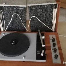 Radios antiguas: IBEROFON TOCADISCOS. Lote 115460079
