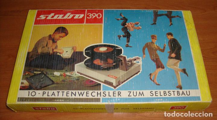TOCADISCOS MARCA STABO 390 PARA MONTAR VER FOTOS (Radios, Gramófonos, Grabadoras y Otros - Transistores, Pick-ups y Otros)