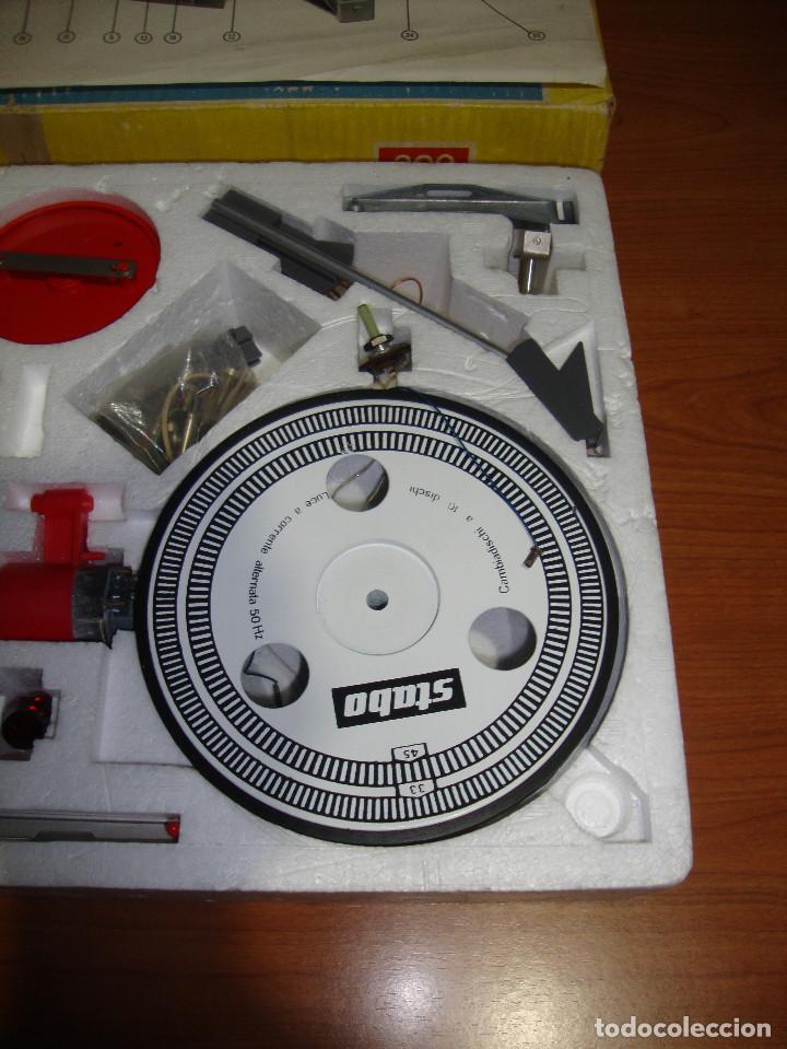 Radios antiguas: TOCADISCOS MARCA STABO 390 PARA MONTAR VER FOTOS - Foto 6 - 115646023