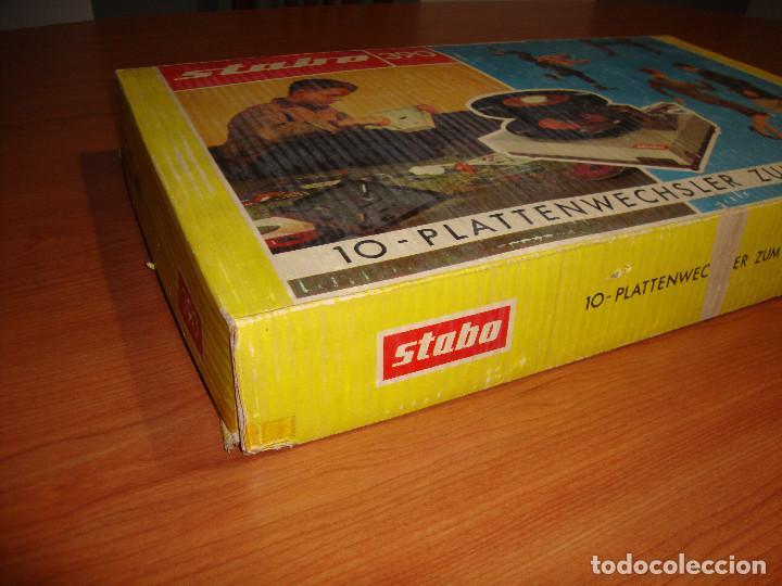 Radios antiguas: TOCADISCOS MARCA STABO 390 PARA MONTAR VER FOTOS - Foto 7 - 115646023