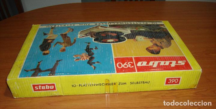 Radios antiguas: TOCADISCOS MARCA STABO 390 PARA MONTAR VER FOTOS - Foto 10 - 115646023