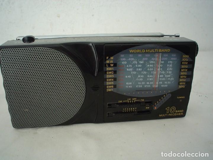 RADIO MULTIBANDAS SATELLITE AJ-799 (Radios, Gramófonos, Grabadoras y Otros - Transistores, Pick-ups y Otros)