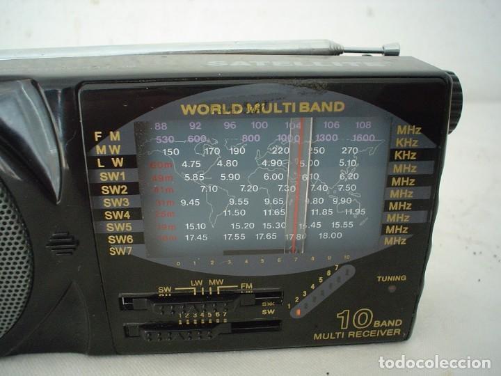 Radios antiguas: RADIO MULTIBANDAS SATELLITE AJ-799 - Foto 2 - 115739203