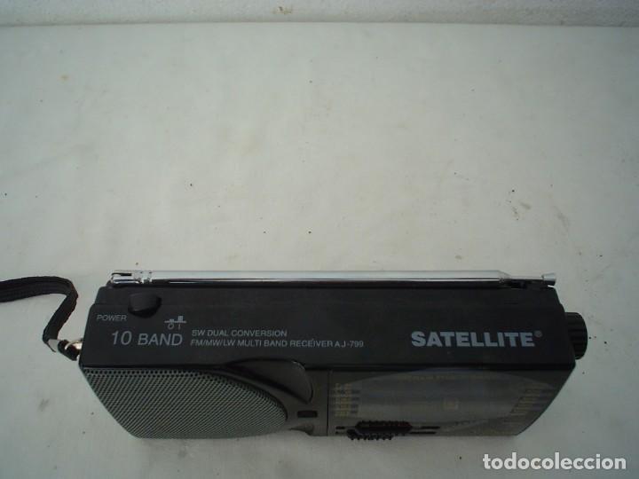 Radios antiguas: RADIO MULTIBANDAS SATELLITE AJ-799 - Foto 3 - 115739203