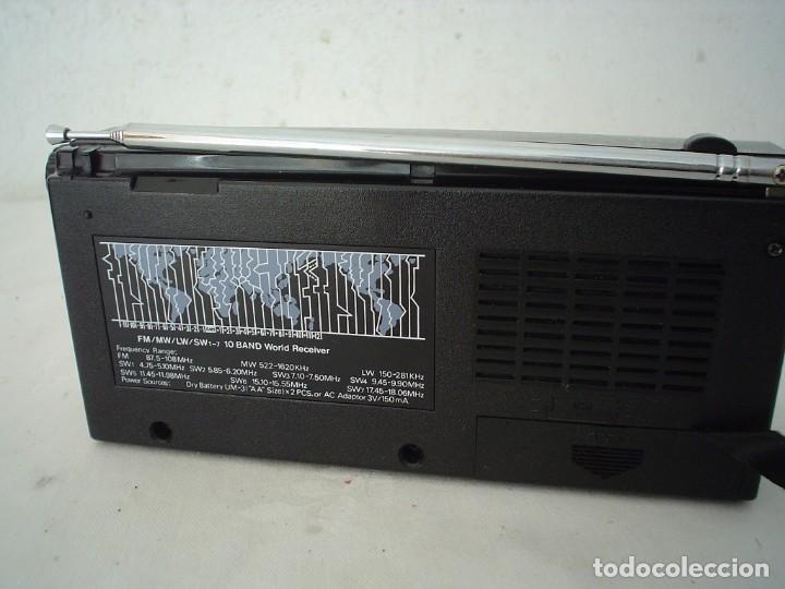 Radios antiguas: RADIO MULTIBANDAS SATELLITE AJ-799 - Foto 5 - 115739203