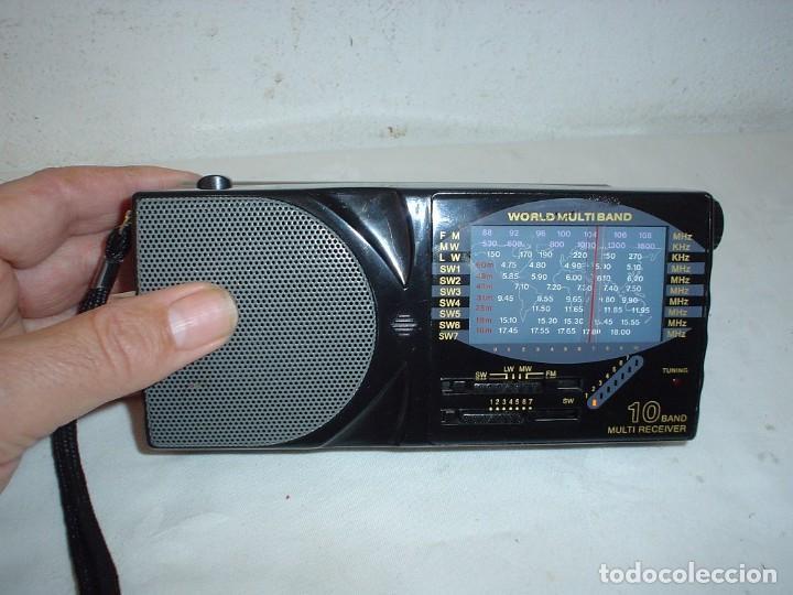 Radios antiguas: RADIO MULTIBANDAS SATELLITE AJ-799 - Foto 7 - 115739203
