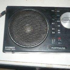 Radios antiguas: RADIO-TRANSISTOR PUNTOAZÚL. Lote 115902223