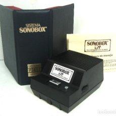 Radios antiguas: SISTEMA REPRODUCTOR DE AUDIO DISCOS - SONOBOX - PHONOBOX ¡¡ FUNCIONANDO ¡¡. Lote 116125239