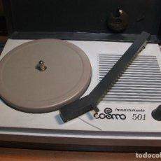 Radios antiguas: TOCADISCOS COSMO 501 TRANSISTORIZADO PEPETO RECORDS ELECTRONICA VER FOTOS Y VIDEO. Lote 116128503