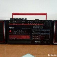 Radios antiguas: RADIO CASSETTE PHILIPS CUBIC COMBO D8264. Lote 116155131