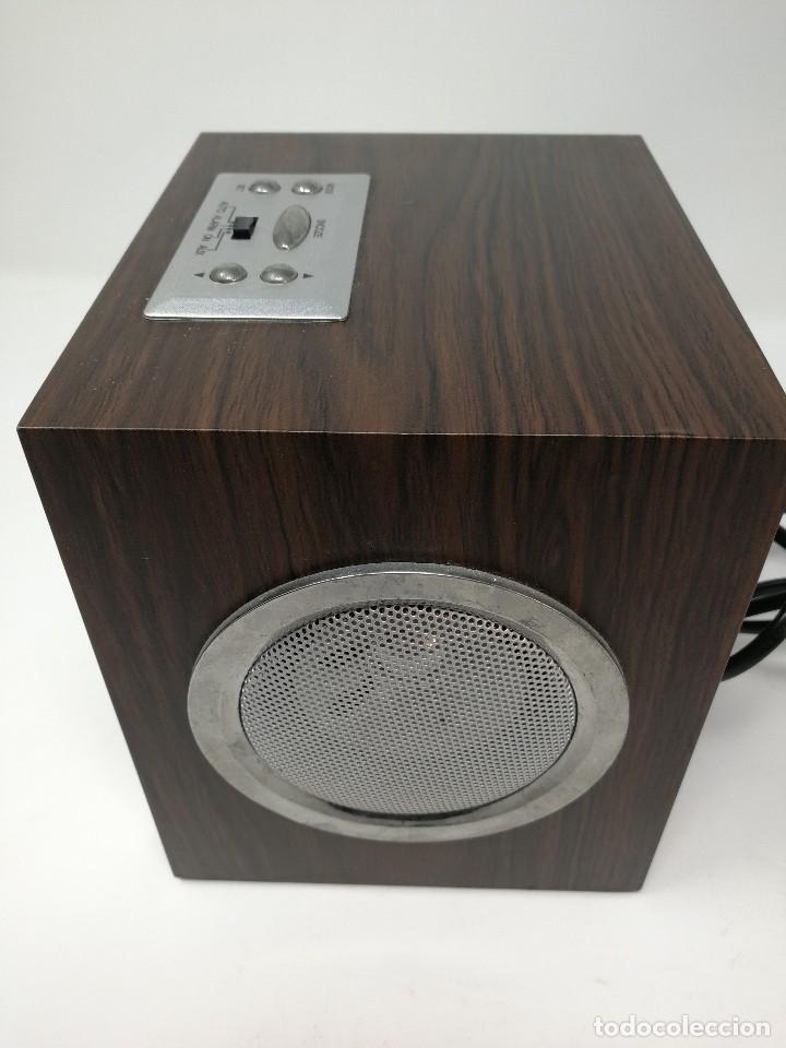 Radios antiguas: Radio publicidad Cepsa en madera. Funcionando - Foto 3 - 116181515