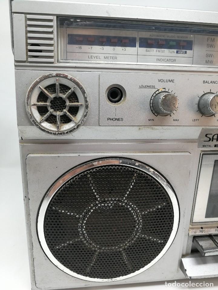 Radios antiguas: ANTIGUA RADIO CASSETTE SANKEI TCR-S81 multibandas MADE IN JAPAN - Foto 3 - 116182843