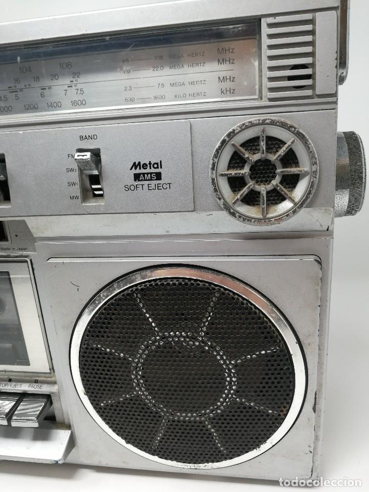 Radios antiguas: ANTIGUA RADIO CASSETTE SANKEI TCR-S81 multibandas MADE IN JAPAN - Foto 4 - 116182843