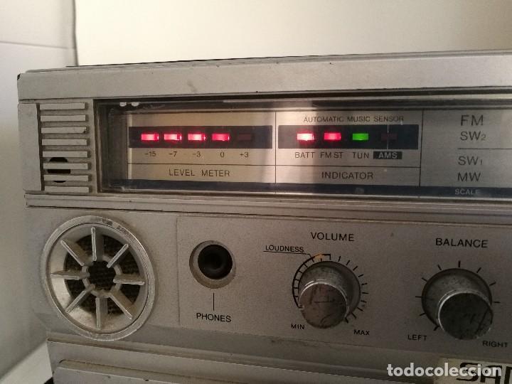 Radios antiguas: ANTIGUA RADIO CASSETTE SANKEI TCR-S81 multibandas MADE IN JAPAN - Foto 10 - 116182843